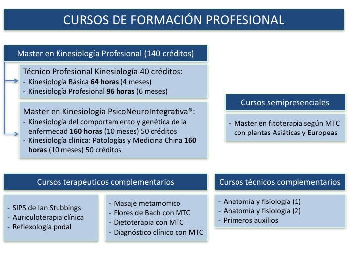 cursos de kinesiología Psiconeurointegrativa